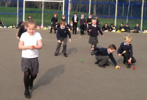 Egg and spoon races 4